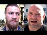 Conor McGregor will never face Khabib,Ferguson or Lee he'll instead face Gaethje,Chael on Chuck