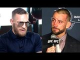 CM Punk's loss was a blessing in disguise he now knows what a real beating feels like,GSP on Conor