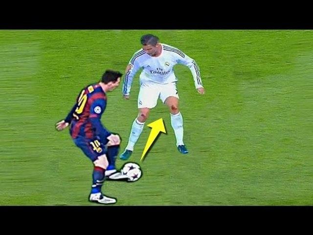 Lionel Messi Vs Cristiano Ronaldo ● Outstanding Panna