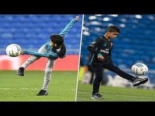 Cristiano Ronaldo Jr • Crazy Skills & Goals