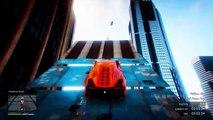 EPIC CITY STUNTS   GTA 5 Funny Moments   E296 (GTA V Online)