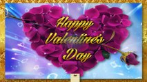 Happy Valentine Day wishes animated ecard greetings whatsapp video with quotes and messages