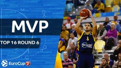 Top 16 Round 6 MVP: Peyton Siva, Alba Berlin