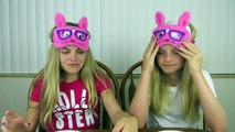 Guess the Hot Cocoa Challenge ~ Jacy and Kacy - video