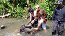Mistis? Tumpukan batu di sungai Cibojong dirubuhkan warga - TomoNews
