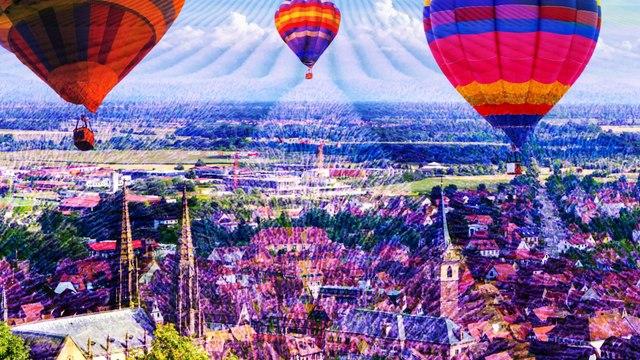 Les plus beaux paysages français à voir en montgolfiere