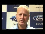 Ford India's President  MD, Michael Boneham
