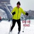 Paris, grande piste de ski