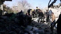 Al menos 36 muertos en bombardeos de régimen sirio en Guta