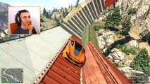 EXTREME MINI-CAR SKY JUMP! (GTA 5 Funny Moments)