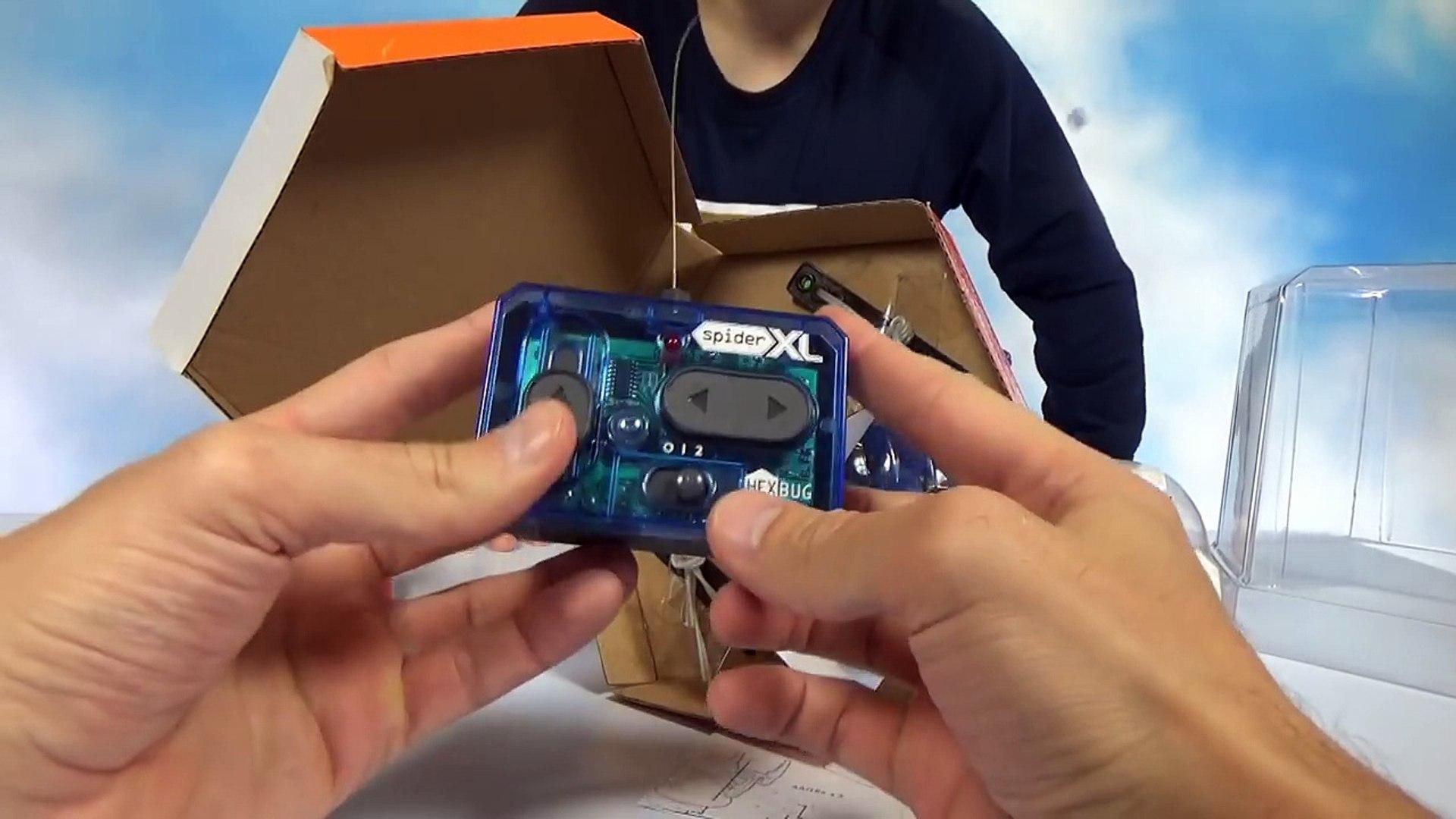 Нано Жуки и Мега паук на радио управлении распаковка играем HexBags and Giant spider Hex Bag XL