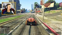 EXTREME LOOPING STUNT RACE (GTA 5 Funny Moments)