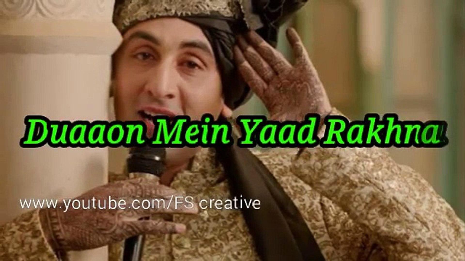 SAD Whatsapp Status Video || Chenna Mereya SAD || Ae Dil Hai Mushkil || FS creative