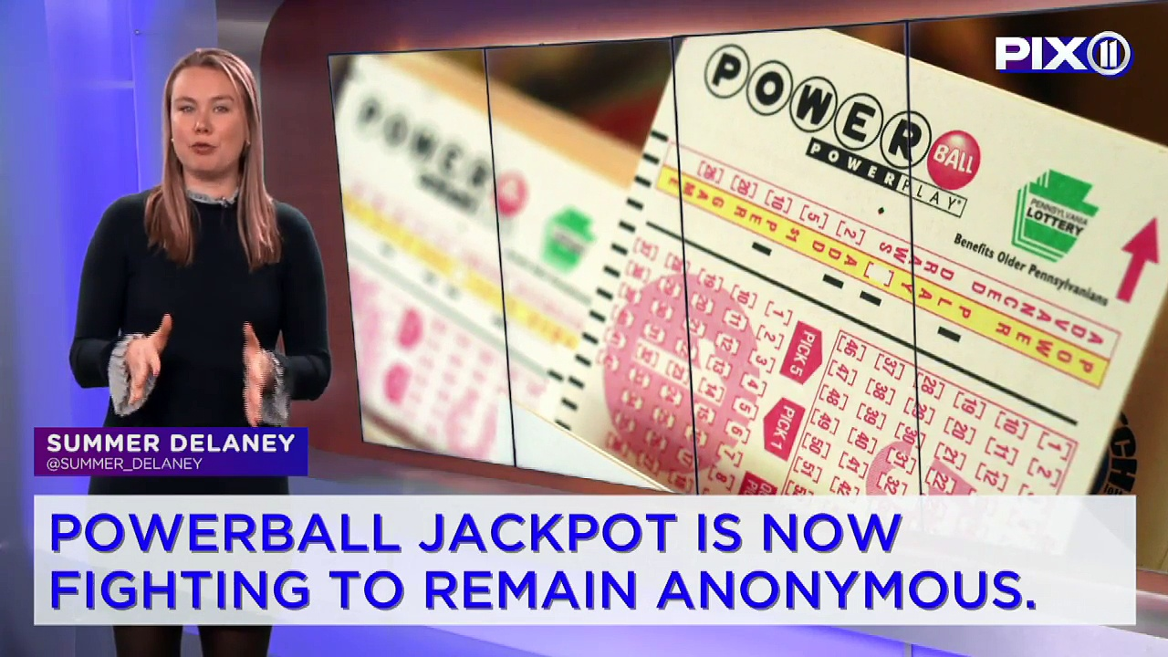 Powerball Winner Sues to Stay Anonymous