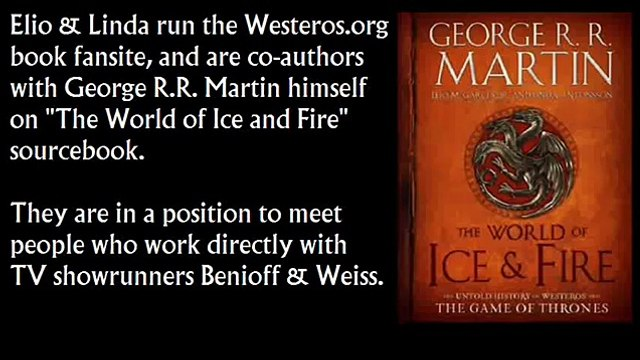 Plea from Co-Authors on Writers Room in Game of Thrones prequels, Benioff & Weiss