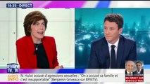 """Hulot accusé d'agression sexuelle: """"on a attaqué sa famille et ça c'est insupportable"""", dit Griveaux"""