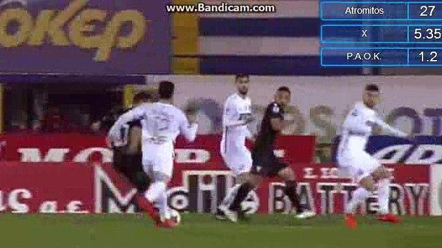 La Canas Goal - Atromitos 1-2 PAOK