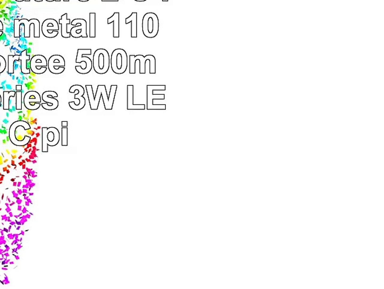 ANSMANN Future 2 C Plus Torche métal 110 lumens Portée 500m LR14 Batteries 3W LED I 2 C