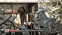 Intempéries : 27 départements en alerte neige et verglas
