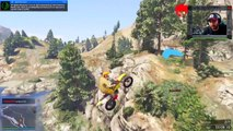 GTA 5 EPIC Bike Races!! Devil's Trail, Slap-a-Bike & EXTREME Off-Road Trial! GTA 5 Funny Moments