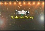 Mariah Carey Emotions Karaoke Version