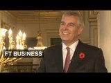 Prince Andrew on helping start-ups succeed