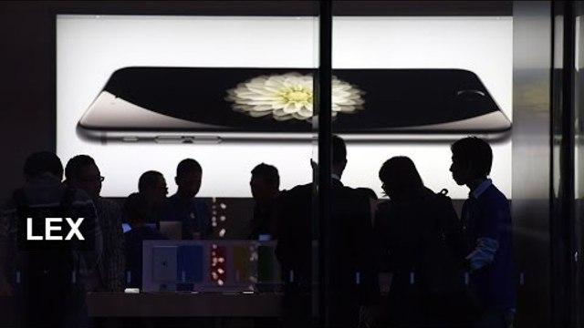 Apple announces biggest profits ever   Lex