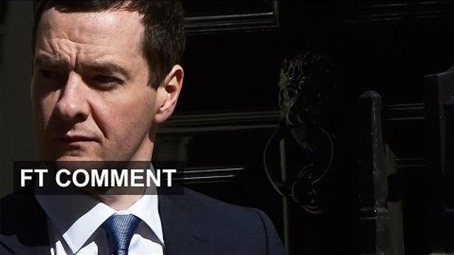 George Osborne - Tactics & Vision   FT Comment