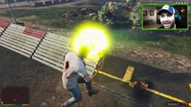 GTA 5 SLOW MOTION GAMEPLAY | Epic Base Destruction | Slow-Mo Superpowers | GTA V Funny Moments
