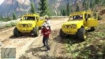 GTA 5 MONKEYS With MINIGUNS & BIGFOOT! | GTA Online Funny Moments | Grand Theft Auto San Andreas