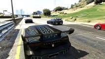 GTA 5 Online Crazy Stunts and Jumps! | Ramp Race | GTA 5 funny moments