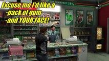 GTA 5 Funny Moments - Car Fails, Bike Stunts and Dead Hikers! - Grand Theft Auto 5