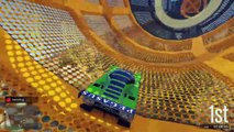 GTA 5 DLC - NEW Unreleased Stunt Races, ALL 310 Stunt Race Props & More! (GTA Online)
