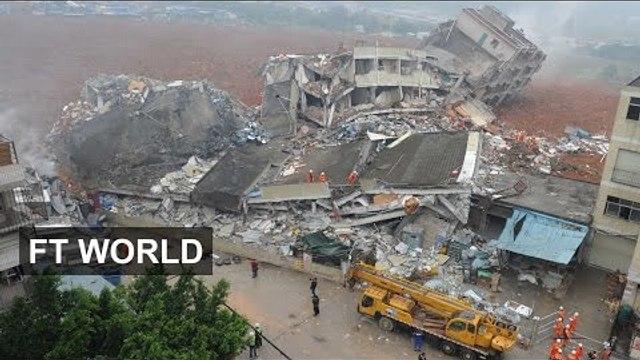 Landslide in Chinese city of Shenzhen | FT World