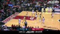 Georgia Tech vs. Louisville Basketball Highlights (2017-18)