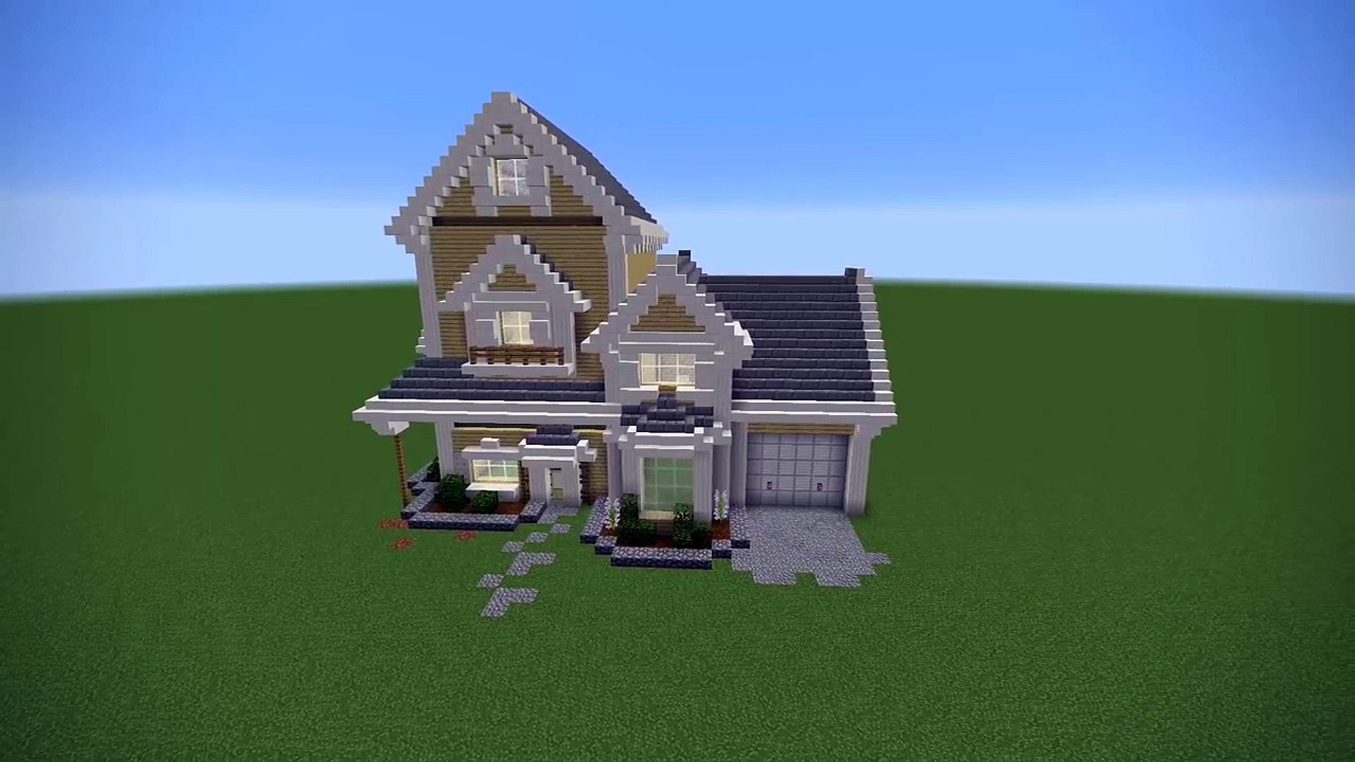 Minecraft Suburban House Tutorial Minecraft House Video Dailymotion