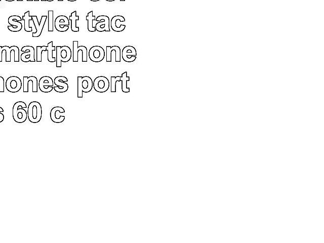 Support flexible  col de cygne   stylet tactile pour Smartphones et téléphones