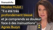 """Hulot : """"Il a été très profondément blessé et je comprends sa douleur face à des insinuations. Le journal n'apporte pas de faits, il colporte des rumeurs"""", estime Agnès Buzyn #8h30politique"""