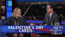 Late Show First Drafts: Valentine's Day