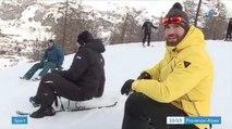Les joueurs du RCT aux sports d'hiver à Serre Chevalier