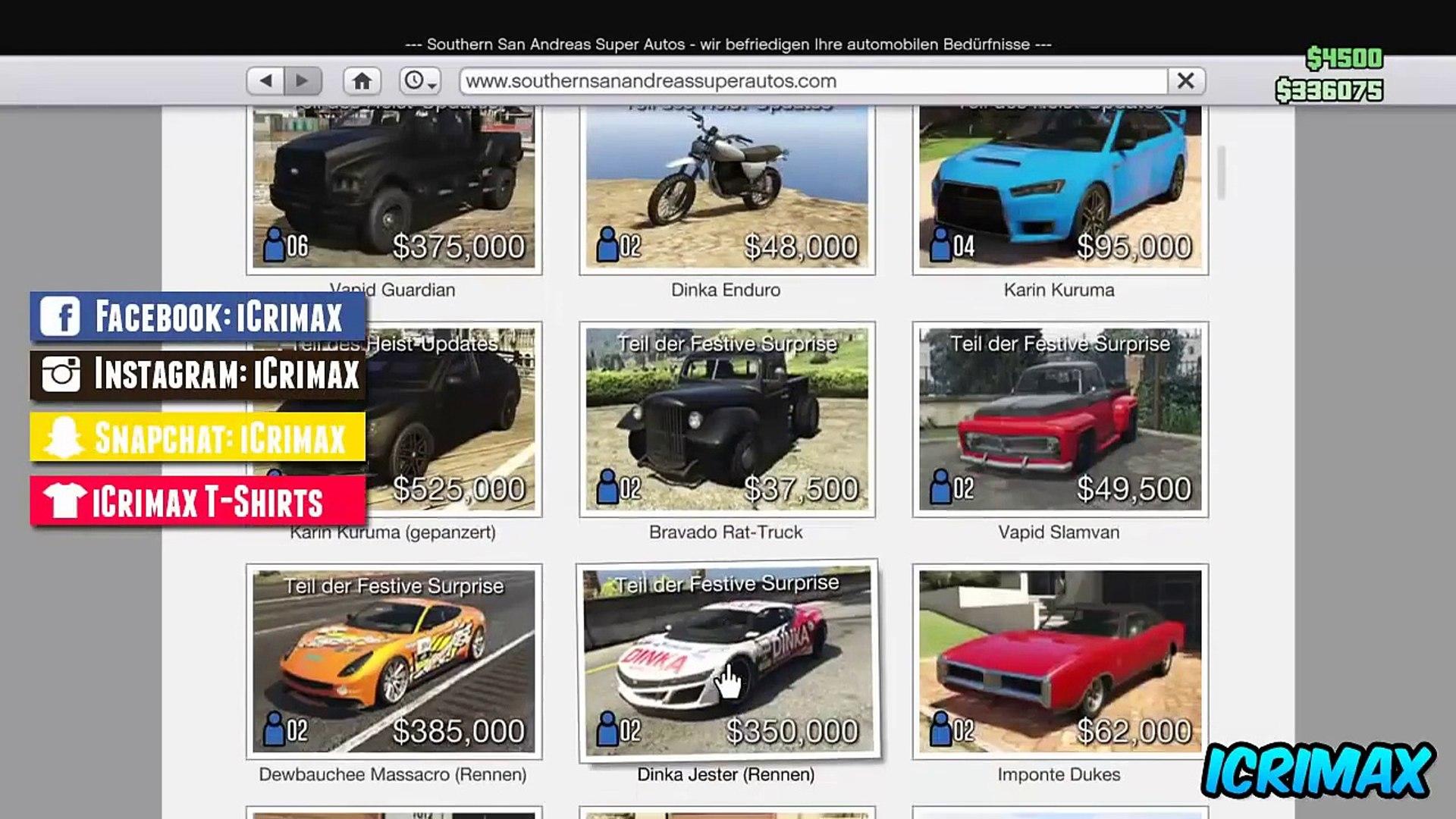 GTA 5 Online: NEUER UNLIMITED MONEY GLITCH - Super Einfach ! | Alle Konsolen - Patch 1.26