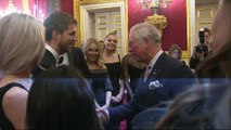 Charles meets YouTube stars at Prince's Trust reception