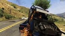 GTA 5 - NOUVELLE VOITURE PARACHUTE ! EPIC STUNT ET COURSE POURSUITE