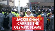 Jackie Chan brings a touch of glamour to Winter Olympics in Pyeongchang