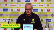 Claudio Ranieri avant FCN-LOSC