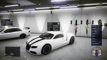 GTA 5 Glitches Online - Drive Inside Your Garage Glitch! - How To Drive Inside Your Garage Glitch!
