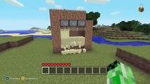 Minecraft Duplicate Block Glitch - Duplicate Blocks Extremely Fast! - Xbox 360 Edition