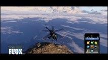 GTA5 天国のような美しき雲海 空 雨 雷 快晴 雪 GTAV Epic Sky of San Andreas -