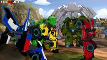 Transformers Robots in Disguise  Season  3 Combiner Force Episode 23 Sick is a bot