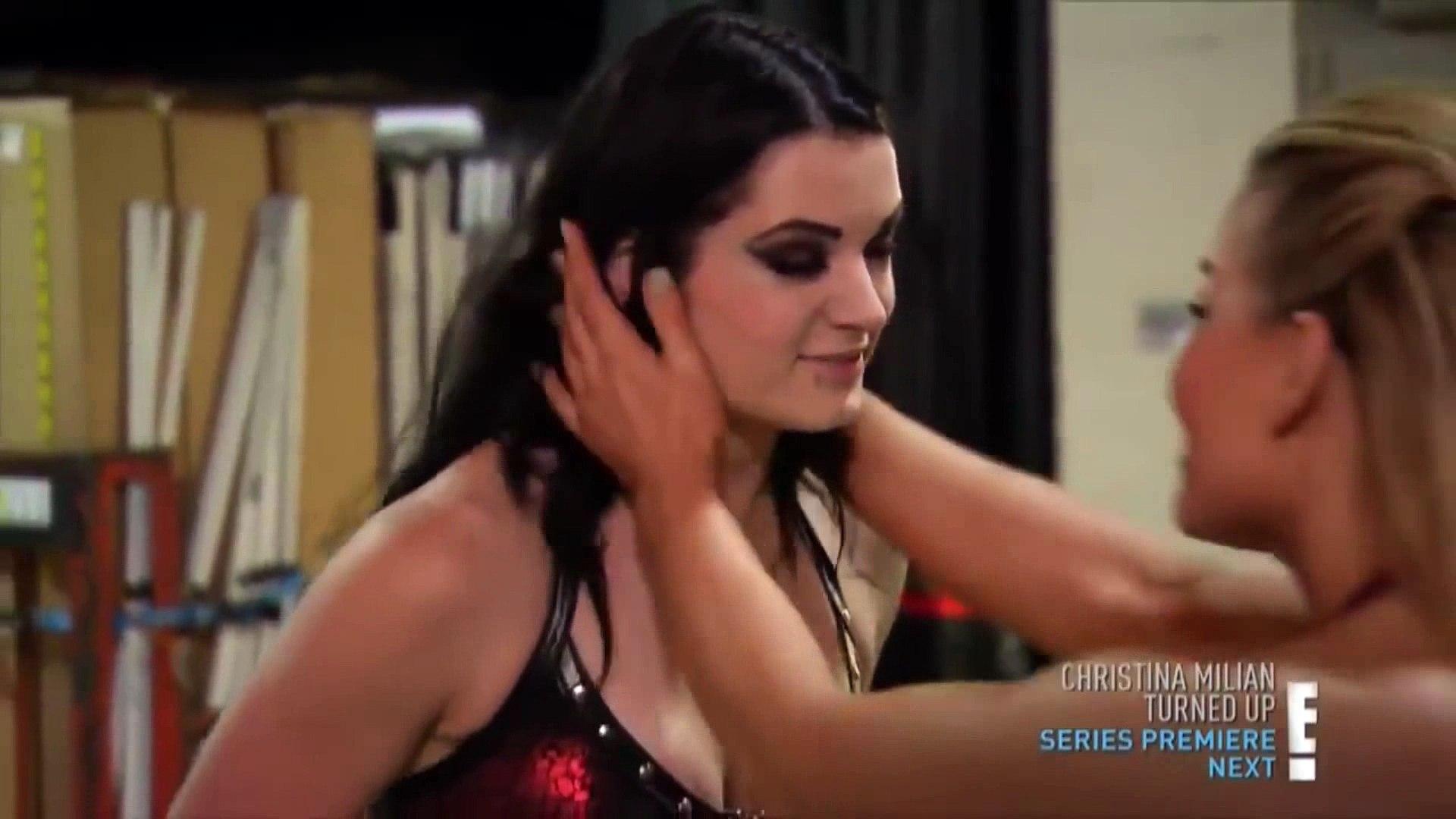 Tits wwe paige WWE: Family,